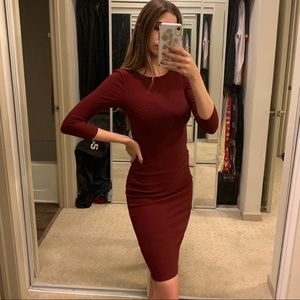 Express Bodycon Shift Dress
